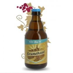 Bière Brunehaut Blanche bio Sans Gluten 33cl