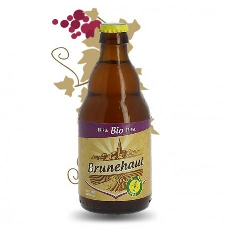 Brunehaut triple BIO sans gluten 33cl