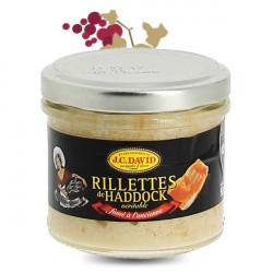 Rillettes de Haddock JC David 52% 90g