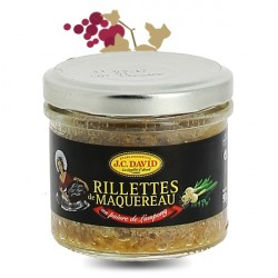 Rillettes de Maquereau JC David 60% 90g