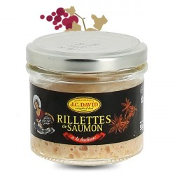 Rillettes de Saumon JC David 60% 90g