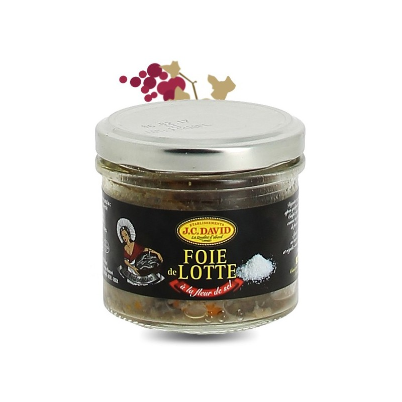 foie de lotte la fleur de sel 90g calais vins. Black Bedroom Furniture Sets. Home Design Ideas