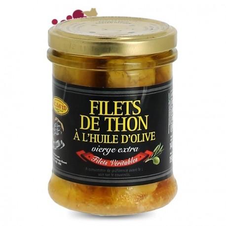 Filets de Thon à l'huile d'olive JC David 190g