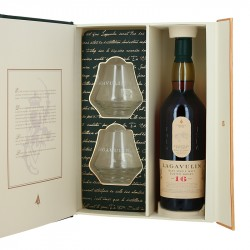 Coffret Whisky Lagavulin 16 ans 70cl + 2 Verres Whisky Islay