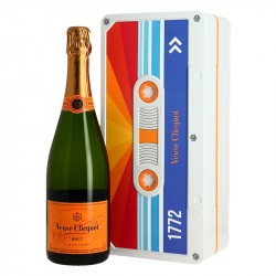 Veuve Clicquot TAPE BOX Edition Cassette Retro Champagne Brut 75cl