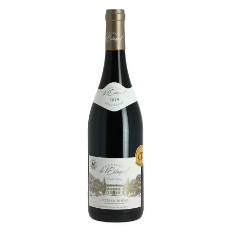 Château de l'Estagnol Côtes du Rhône Vin Rouge Vieilles Vignes 2019 75 cl