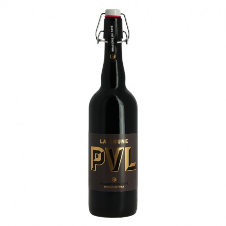 PVL Bière Brune Artisanale du Nord de la France 75 cl
