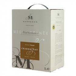 Chardonnay par Marrenon 5 Litres IGP Meditérranée Vin Blanc de Provence