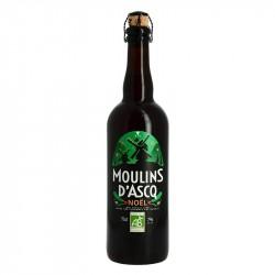 MOULINS d'ASCQ Bière de NOEL 75 cl