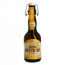Bière belge blonde Bon Secours 33 cl