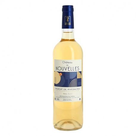 Muscat de Rivesaltes Château de Nouvelles Vin Blanc du Roussillon