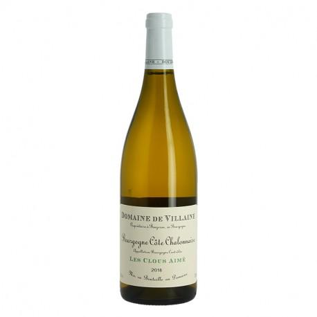"""Bourgogne Côtes Chalonnaise Blanc """"Les Clous Aimé"""" 2018 par Domaine de Villaine"""