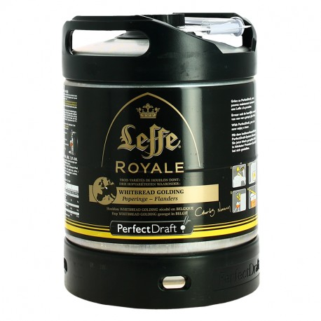 PERFECT DRAFT Bière LEFFE ROYALE 6L