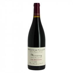 """Mercurey Rouge """"Les Montots"""" Vin de Bourgogne rouge par Domaine de Villaine"""