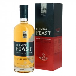 Flaming Feast Blended Whiskey par Wemyss