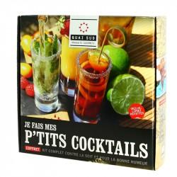 """Coffret """"Je fais mes P'tits Cocktails"""" Quai Sud"""