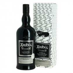 Whisky ARDBEG BLAAACK Édition Limitée 2020 Islay Single Malt Scotch Whiskey
