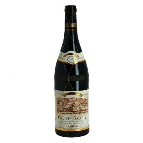 Côte Rôtie Vin Rouge de la Vallée du Rhône La Mouline 2008 Cote Blonde Guigal