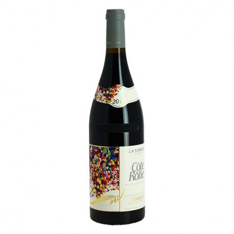 Côte Rôtie LA TURQUE Côte Brune 2011 Guigal Vin Rouge de la Vallée du Rhône