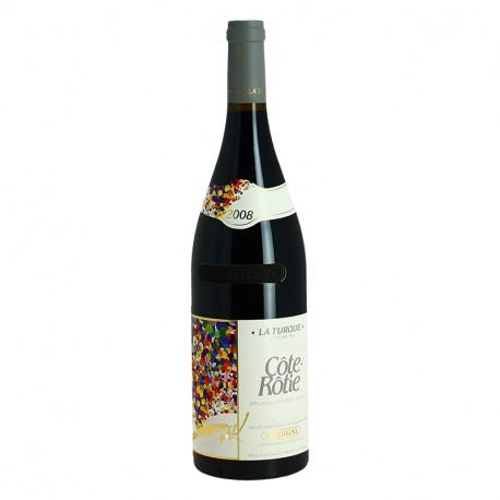 Côte Rôtie Côte Brune Vin Rouge de la Vallée du Rhône La Turque 2008 Guigal
