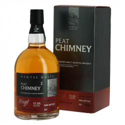 PEAT CHIMNEY Batch Strength Whisky Limited Edition  57° par Wemyss