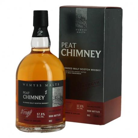PEAT CHIMNEY Batch Strength Whisky Limited Edition  57° par Wemyss