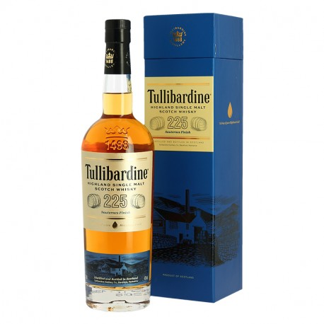 TULLIBARDINE 225 finition en fût de Sauternes Highland Single Malt Scotch Whisky 70 cl