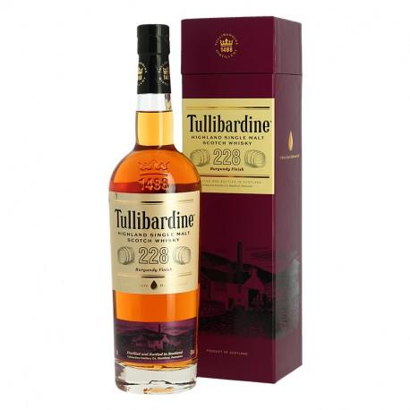 TULLIBARDINE 228 finition en fût de Bourgogne Highland Single Malt Scotch Whisky 70 cl