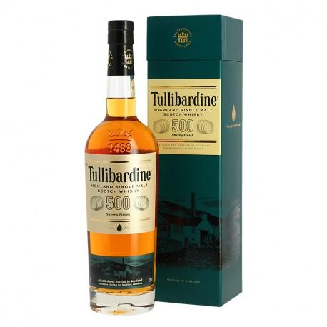 TULLIBARDINE 500 finition en fût de Sherry Highland Single Malt Scotch Whisky 70 cl