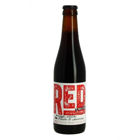 Bière belge rouge Petrus foudre rouge Aged Red 33 cl