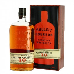 BULLEIT 10 ans Kentucky Straight Bourbon Whiskey 70 cl
