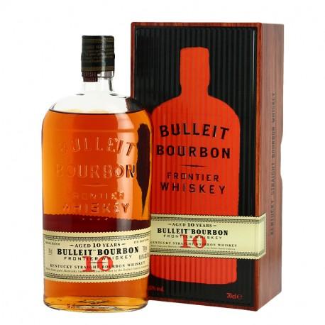 BULLEIT 10 ans Kentucky Straight Bourbon Whiskey 70 cl