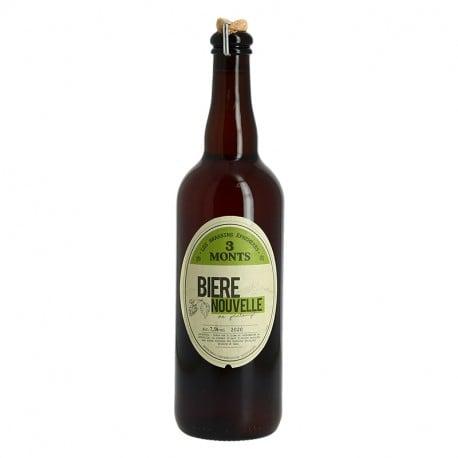 Trois Monts Bière Nouvelle Brassin de Printemps 75 cl