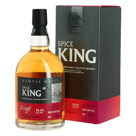 Spice King Batch Strength Whiskey Limited Edition 58 ° by Wemyss