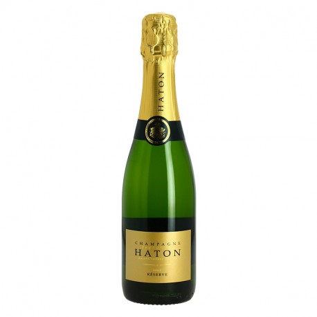 Champagne Jean Noel Haton Brut Reserve Demi Bouteille