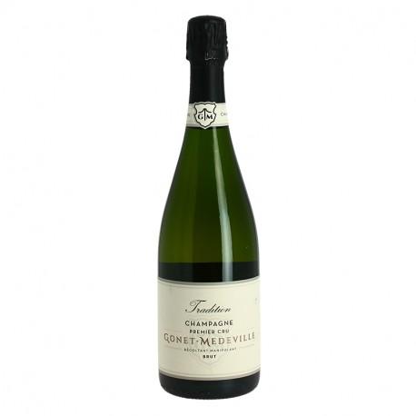 GONET MEDEVILLE CHAMPAGNE BRUT Champagne 1er Cru  Tradition