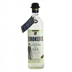 BROKERS London dry GIN au chapeau melon