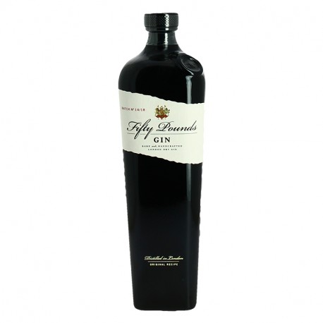 FIFTY POUNDS london Dry Gin 70 cl