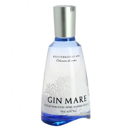 Gin Espagnol Mare 50 cl Olive Romarin Basilic Thym.