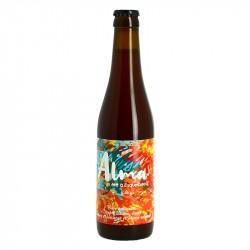 ALMA Bière Double Saison Rosée par Brasserie Thiriez 33 cl
