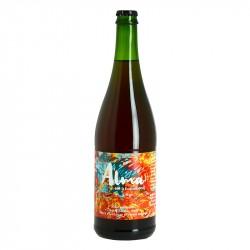 ALMA Bière Double Saison Rosée par Brasserie Thiriez