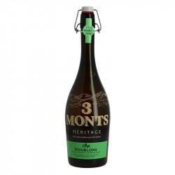 Bière 3 Monts Héritage Houblons Bière Blonde 75 cl