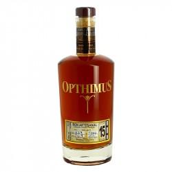 Opthimus 15 ans Rhum République Dominicaine