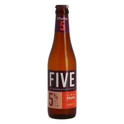 Five bière blonde par Brasserie St Feuillien 33 cl