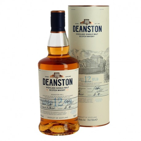 Deanston 12 ans Highland single Malt Scotch Whisky