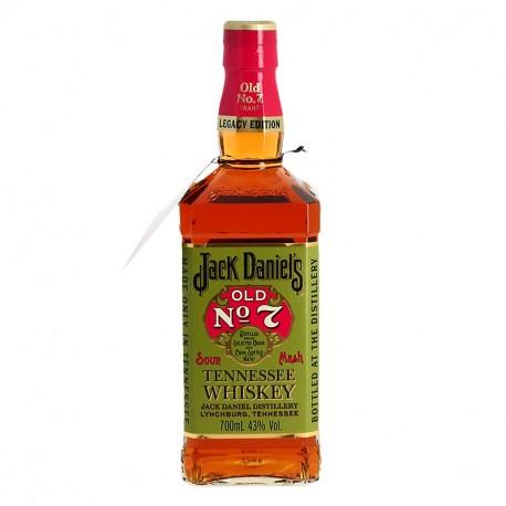 "JACK DANIEL'S ""OLD N°7 LEGACY EDITION"" Etiquette Verte"