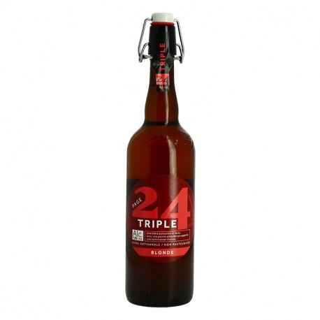 PAGE 24 Triple Bière de Garde Bière Blonde Artisanale 75 cl