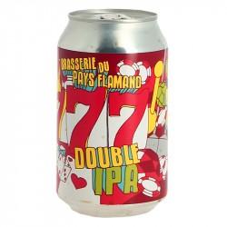Bière Double IPA 777 by Brasserie du pays Flamand 33 cl