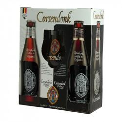 Corsendonk Coffret bière 2 x 33 cl + 1 Verre