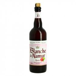 BLANCHE DE NAMUR ROSEE Bière Blanche à la Framboise 75 cl